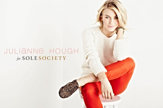 Julianne Hough and Sole Society