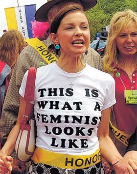 Ashley Judd Feminist Senate